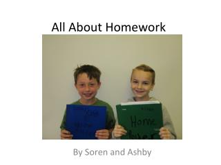 All About Homework