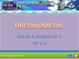 KELAS X SEMESTER 2 KD 5.1