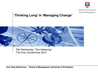 Prof. Peter McKiernan: