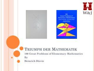 Triumph der Mathematik