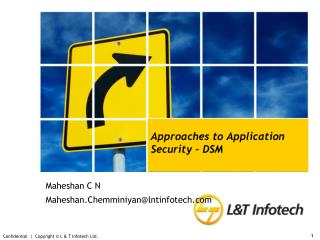 Approaches to Application Security – DSM