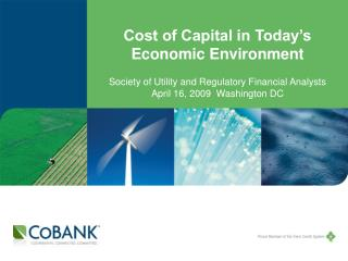Cost of Capital in Today's Economic Environment