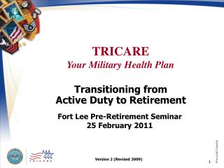 Transitioning from  Active Duty to Retirement