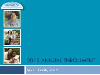 2012 Annual Enrollment