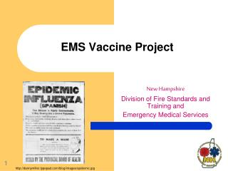 EMS Vaccine Project