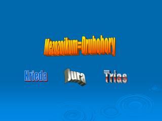 Mezozoikum=Druhohory