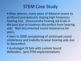STEM Case Study