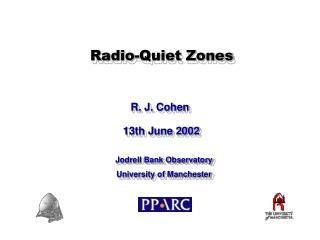 Radio-Quiet Zones