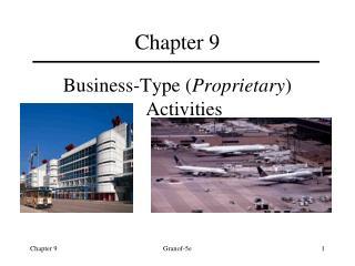 Business-Type Proprietary Activities