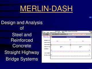 MERLIN-DASH