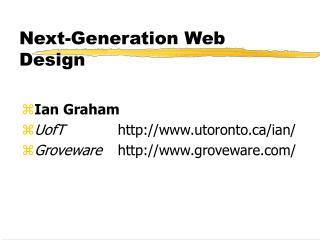 Next-Generation Web Design