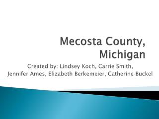 Mecosta County, Michigan