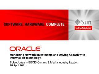 Monetizing Network Investments and Driving Growth with Information Technology