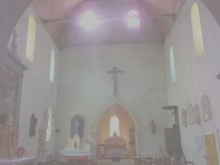 Église de ST PIERRE LES BOIS  dans le sud du CHER