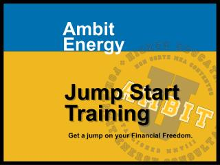Ambit Energy Jump Start Training
