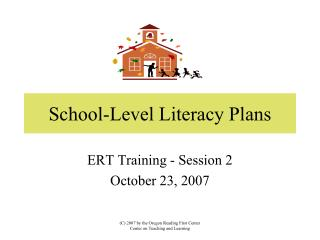 School-Level Literacy Plans