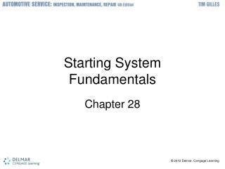 Starting System Fundamentals