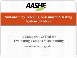 Sustainability Tracking, Assessment & Rating System  (STARS)