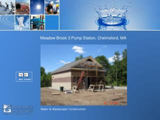 Water & Wastewater Construction