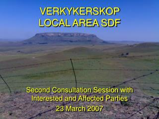VERKYKERSKOP   LOCAL AREA SDF