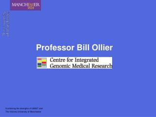 Professor Bill Ollier
