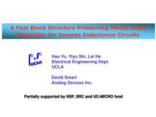 A Fast Block Structure Preserving Model Order Reduction for Inverse Inductance Circuits
