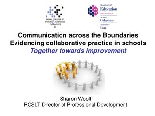 Sharon Woolf RCSLT Director of Professional Development