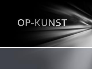 OP-KUNST