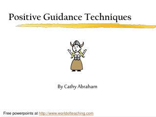 Positive Guidance Techniques