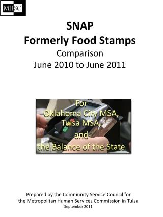SNAP Formerly Food Stamps Comparison June 2010 to June 2011