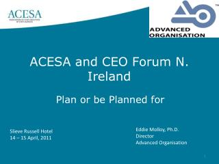ACESA and CEO Forum N. Ireland
