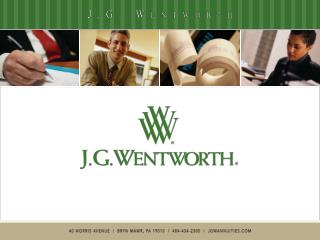 Who is J.G. Wentworth?
