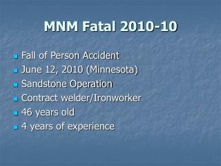 MNM Fatal 2010-10