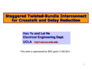 Staggered Twisted-Bundle Interconnect for Crosstalk and Delay Reduction