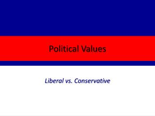 Political Values