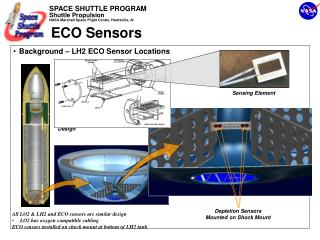 Background – LH2 ECO Sensor Locations