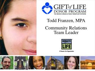 Todd Franzen, MPA Community Relations Team Leader