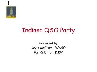 Indiana QSO Party