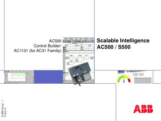 Scalable Intelligence AC500 / S500