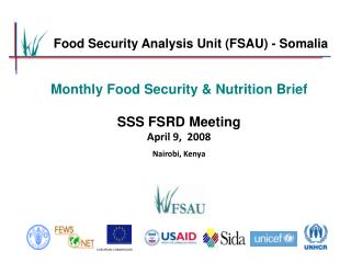 Food Security Analysis Unit (FSAU) - Somalia