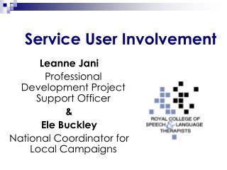 Service User Involvement
