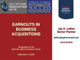 What is an �Earnout�?