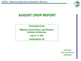 USDA / National Agricultural Statistics Service