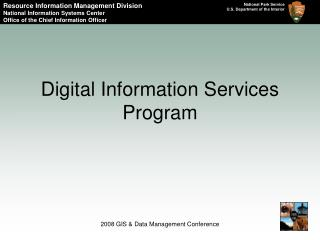 Digital Information Services Program