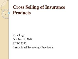 Cross Selling of Insurance Products