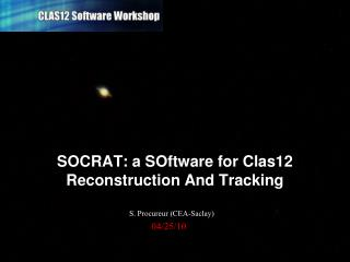 SOCRAT: a SOftware for Clas12 Reconstruction And Tracking