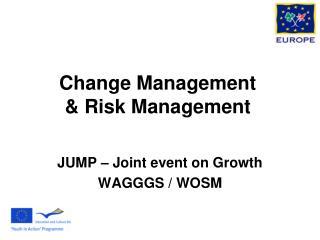 Change Management & Risk Management