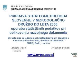 Jernej Stritih                                Dr. Darja Piciga Direktor svps.si