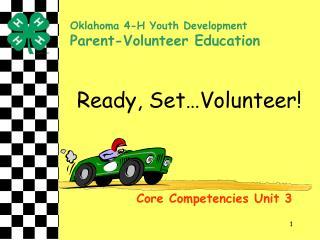 Ready, Set Volunteer