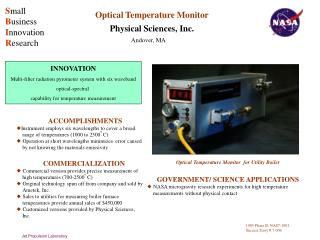 Optical Temperature Monitor